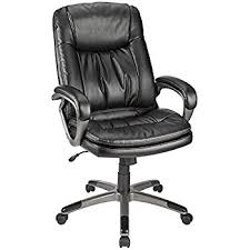 Whos That Lounging In My Chair Amazon Com Realspace Fosner High Back Bonded Leather Chair Black
