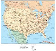 map usa states cities printable usa map cities and states maps of usa cities free printable maps