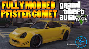 gta 5 fully modified pfister comet youtube