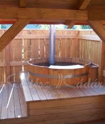 Wood Bathtubs Plunge Pool Wooden Bathtubs Whirlpool Kertész László Master Cooper