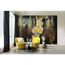 Stone Wall Mural Komar 100 In X 145 In Stone Wall Mural 8 727 The Home Depot