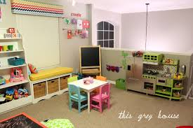 our bright and fun playroom the details this grey house