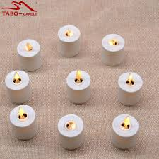 led tea lights with timer moving flame amber yellow light rechargeable led tea light candles