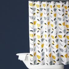 yellow gray black shower curtain u2022 shower curtain ideas