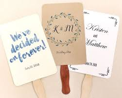 wedding program fan sticks wedding program fan kit sue s fans