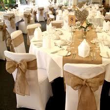 burlap chair sash online shop rustic theme wedding decoration contain burlap chair