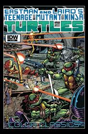 idw teenage mutant ninja turtles color classics number 05