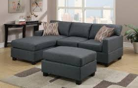 Sectional Sofa With Ottoman Reversible Sectional Sofas Foter