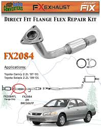 fx2084 semi direct fit exhaust flange repair flex pipe replacement