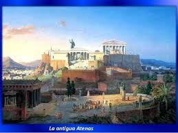 imagenes de antigua atenas tema la antigua grecia 1º eso