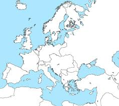 Blank Political Map Of Europe by Blank Political Map Of Europe Special Offers