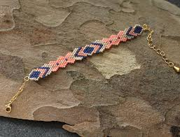 woven bracelet with beads images Woven beaded bracelet women bracelet boho chic bracelet jpg