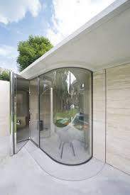 Flat Roof Modern House Home Design Modern House With Glass Walls Ideas In 2013 Large