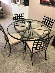 Iron Bistro Table Set Iron Bistro Table Chairs By Hauser