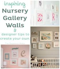gallery wall ideas nursery gallery wall ideas and tips momtrends