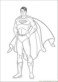 picture superman coloring free superman coloring