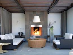 outdoor fireplace options hgtv