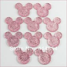 hair bow center buy wholesale lot 50 pcs clear mickey mouse cabochons resin