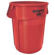 rubbermaid roughneck 32 gal black trash lid