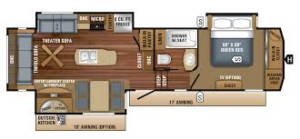 excel rvs limited 36rkm a unique layout with the kitchen at the