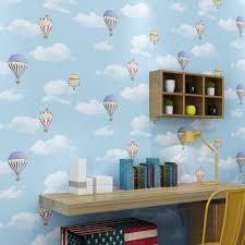 heißluftballon kinderzimmer aliexpress beibehang warm und romantische rosa niedlichen
