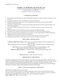 Sample Nursing Resume Objective health informatics specialist sample resume quality assurance