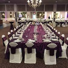table linens for wedding wedding tables wedding table linens chair covers tips to choose