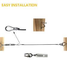 string light suspension kit senmit globe string light suspension kit outdoor light guide
