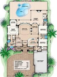 Hacienda Floor Plans Southwest House Plans At Dream Home Source Southwestern Style