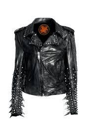 biker jacket vest heavy metal black sheep one of a kind