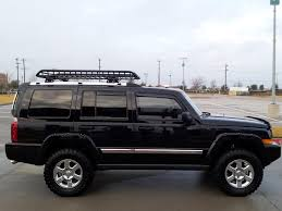 jeep commander lifted several things done this weekend including lift
