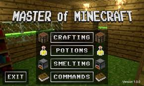 minecraft 8 1 apk free master of minecraft apk free entertainment app for