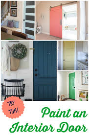 Interior Door Color Try This 8 Colors You Can Paint An Interior Door Interior Door