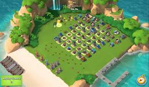 海島奇兵 boom beach level 46 home base defended 1 intel u0026 5
