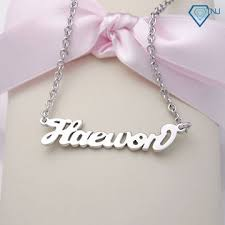 baby name necklaces 22 best dây chuyền mặt chữ images on collars name