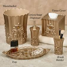 Glass Bathroom Accessories Sets Bathroom Accessory Sets Touch Of Class