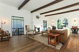 first floor in spanish 1925 spanish style with hollywood sign views asks 2 45m curbed la