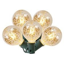 Christmas Rope Lights Argos by Amazon Com Set Of 10 Clear Mercury Glass G50 Globe Christmas