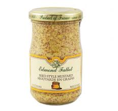 gourmet mustard whole grain mustard le gourmet food