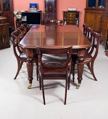Mahogany Dining Tables And Chairs Antique Regency Mahogany Dining Table Chairs Ideas With Room And 8