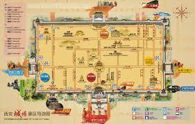 map of xi an xian tour map china chengdu panda holding chengdu panda
