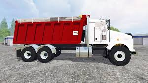buy kenworth t800 t800 dumper v2 0 for farming simulator 2015