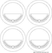 medal templates enchantedlearning com