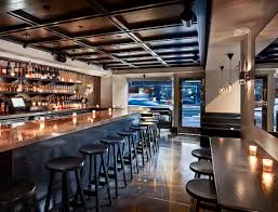Design A Bar by A Kitchen Bar At Aka Rittenhouse Square