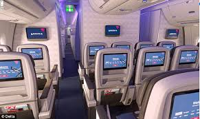 Delta 777 Economy Comfort Delta Unveils Its Premium Economy Seat Which Offers More Space And