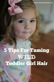 toddler hair on taming toddler girl hair with socozy