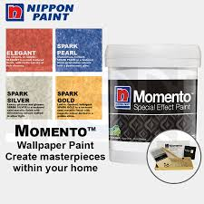 qoo10 nippon momento special effect paint 1 litre set