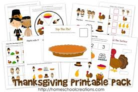 thanksgiving printable pack free printables