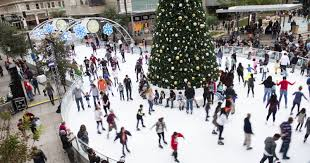 phoenix outdoor ice skating rinks for the 2017 holiday season