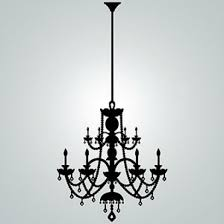 Chandelier Wall Decal Rhinestone Chandelier Vinyl Wall Decal Gift Ideas